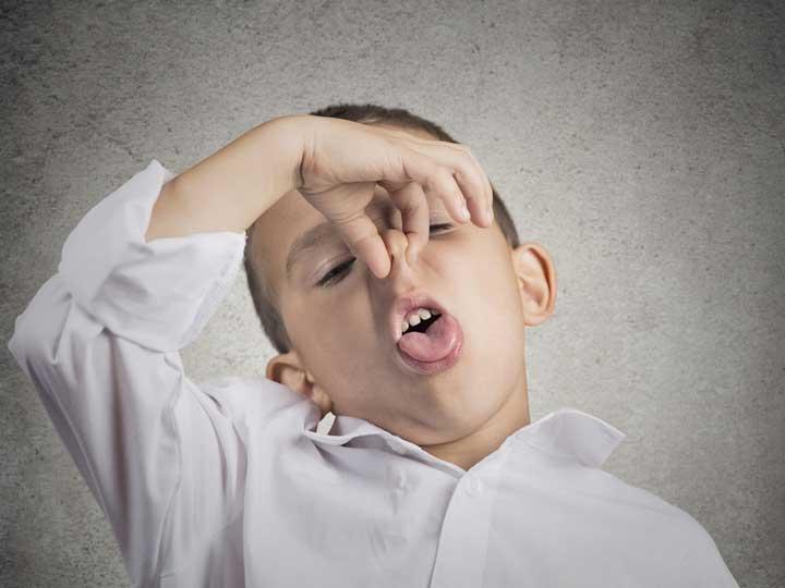 بوی بد دهان - مراجعه به دندانپزشک